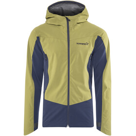 Norrøna Falketind Windstopper Hybrid Jacket Men blue/olive